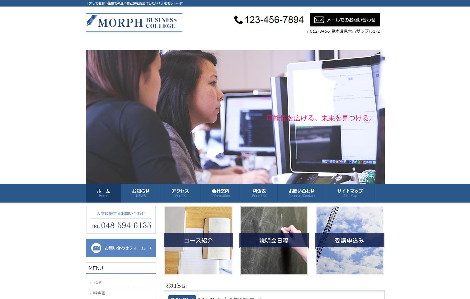 MORPH オプション スタイルカスタマイザー(04シリーズ適用前)